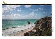 Cancun Mexico - Tulum Ruins - Caribbean Beach Carry-all Pouch