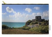 Cancun Mexico - Tulum Ruins - Temple For God Of The Wind 1 Carry-all Pouch