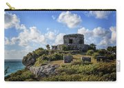 Cancun Mexico - Tulum Ruins - Temple For God Of The Wind 2 Carry-all Pouch