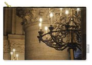 Candelabra At Notre Dame Carry-all Pouch