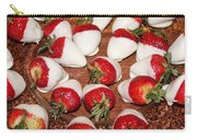 Candied Strawberries Carry-all Pouch