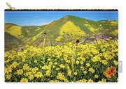 Candle Light In The Temblors - Superbloom 2017  Carry-all Pouch