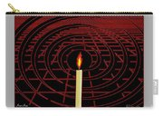 Candle Of Faith And Hope Carry-all Pouch