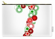 Candy Cane - Christmas Ornaments - Holiday Season Carry-all Pouch