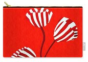 Candy Stripe Tulips Carry-all Pouch