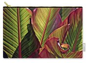 Canna Leaves 2   Carry-all Pouch