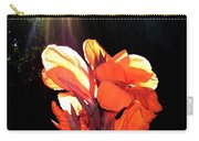Canna Lily Carry-all Pouch by Will Borden