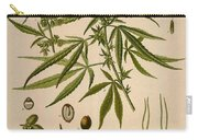 Cannabis Sativa  Carry-all Pouch