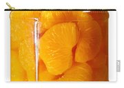 Canned Mandarin Oranges In Glass Jar Carry-all Pouch