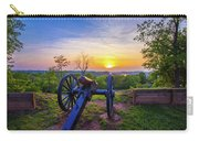 Cannon At Sunset Carry-all Pouch