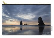 Cannon Beach At Sunset 5 Carry-all Pouch