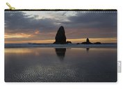 Cannon Beach At Sunset 7 Carry-all Pouch
