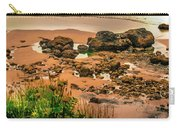 Cannon Beach, Oregon 3 Carry-all Pouch by Shiela Kowing