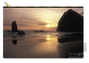 Cannon Beach Sunset-oregon Carry-all Pouch