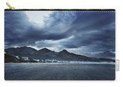 Cannon Beach Under Clouds Carry-all Pouch
