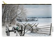 Cannon Under Snow Carry-all Pouch