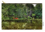 Canoe Among The Reeds Carry-all Pouch