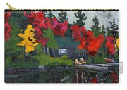 Canoe Lake Chairs Carry-all Pouch by Phil Chadwick