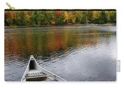 Canoe On A Lake Carry-all Pouch