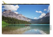 Canoe On Emerald Lake British Columbia Carry-all Pouch