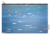 Canoe Race In Huahine Carry-all Pouch