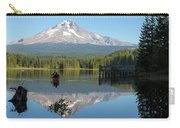 Canoeing At Trillium Lake Carry-all Pouch