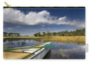Canoeing In The Everglades Carry-all Pouch by Debra and Dave Vanderlaan
