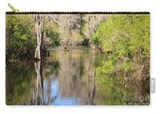 Canoeing On The Hillsborough River Carry-all Pouch by Carol Groenen