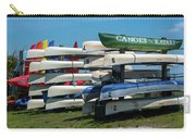 Canoes Cascaded Carry-all Pouch