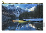 Canoes Under The Peaks Carry-all Pouch