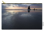 Canon Beach At Sunset 6 Carry-all Pouch