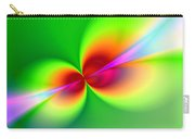 Canoodeling Neon Nodes Fractal Carry-all Pouch