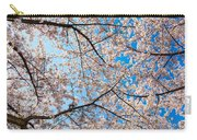 Canopy Of Cherry Blossoms Carry-all Pouch