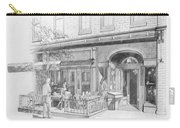 Cantina Restaurant In Saratoga Springs Ny Storefront Carry-all Pouch