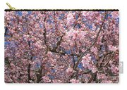 Canvas Of Pink Blossoms Carry-all Pouch