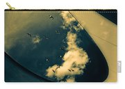 Canvas Seagulls Carry-all Pouch