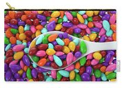 Candy Covered Sunflower Seeds Carry-all Pouch