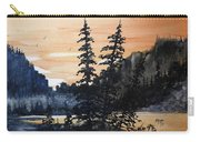 Canyon Trees, Watercolor Carry-all Pouch