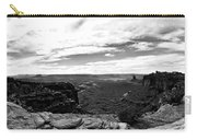 Canyonlands National Park Utah Pan 06 Bw Carry-all Pouch