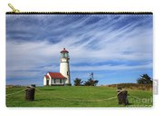 Cape Blanco Lighthouse Above The Rope Carry-all Pouch