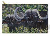 Cape Buffalo First Painting Carry-all Pouch