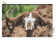 Cape Buffalo Skull Carry-all Pouch