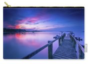 Cape Cod Art Sunrise On Pleasant Bay In July Carry-all Pouch