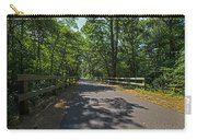 Cape Cod Rail Trail Trees Eastham Ma Fence Carry-all Pouch