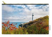 Cape Elizabeth Maine - Portland Head Lighthouse Carry-all Pouch