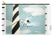 Cape Hatteras Lighthouse - Fish Border Carry-all Pouch