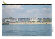 Cape May Beach Scene Carry-all Pouch