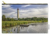 Cape May Lighthouse From The Pond Carry-all Pouch