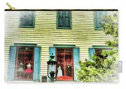 Cape May New Jersey City Scenic Carry-all Pouch