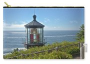 Cape Meares Lighthouse Oregon Coast. Carry-all Pouch